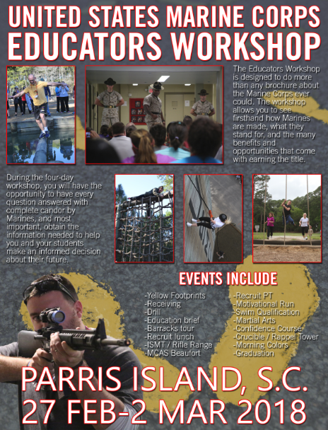 Educator's Work Shop (Parris Island Trip)
