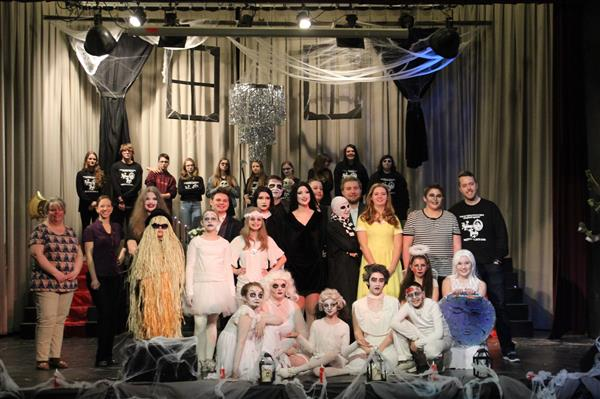 Great job by the Entire Cast and Crew of The Addams Family!