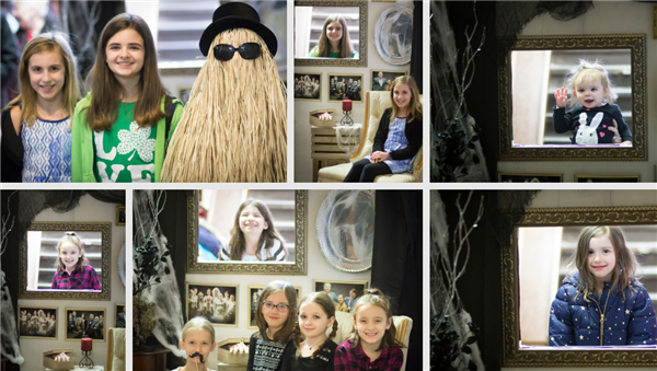 Addams Family Musical - Compass Pointe Photography Photobooth