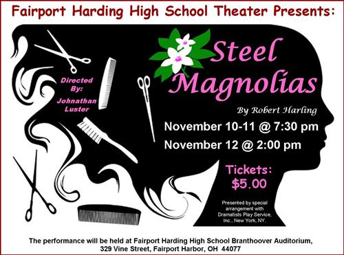 Fairport Harding High School Theater Presents the Fall Play: Steel Magnolias