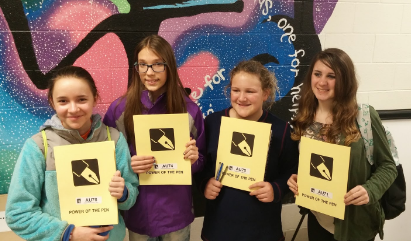 Hear from our Seventh Grade Power of the Pen Team - 2016-2017