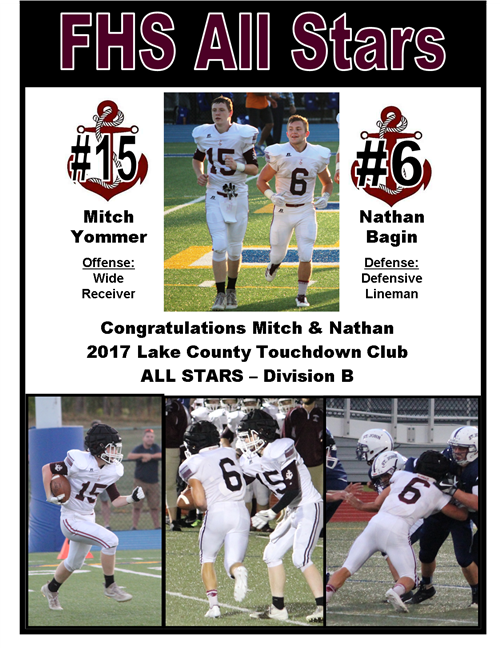 Congrats to our FHS All Stars