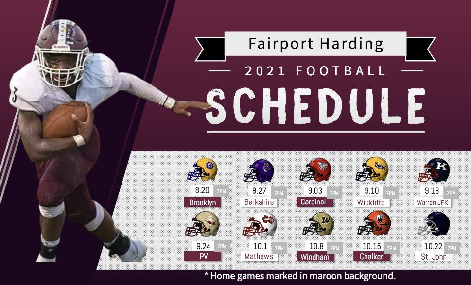 Tentative 2021 Football Schedule