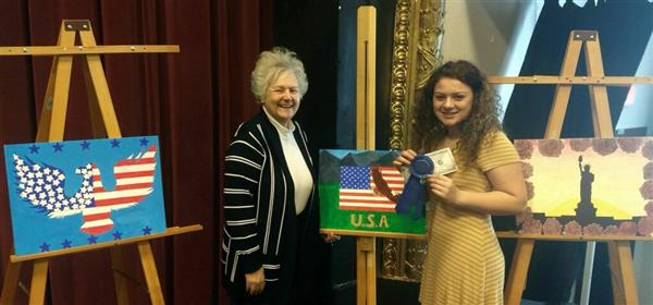 VFW Honored Fairport Harding High Patriotic Art Award Winners - May 4, 2018