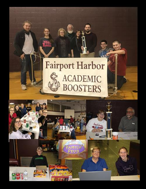 Family Game Night -Academic Boosters Nov 9, 2018