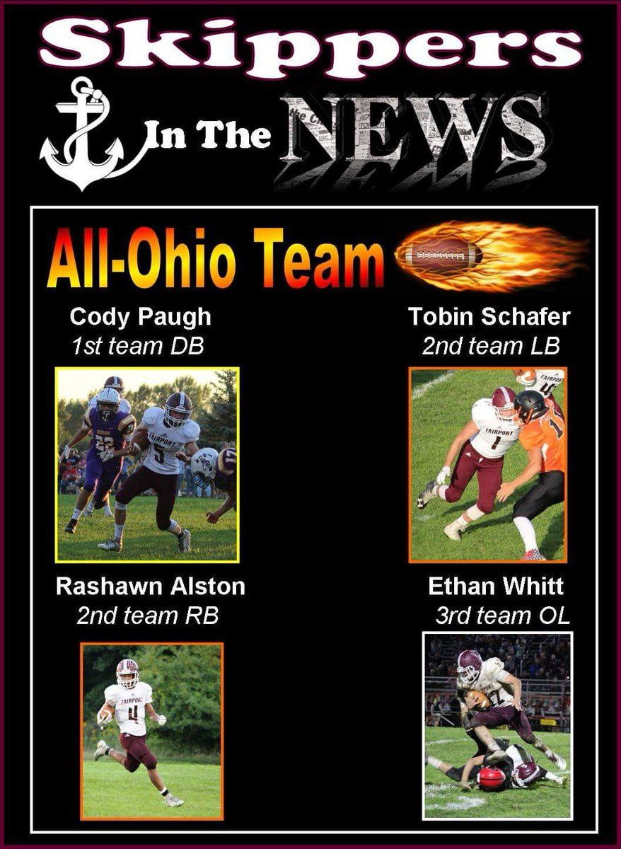 All Ohio Football Players 11/26/2018