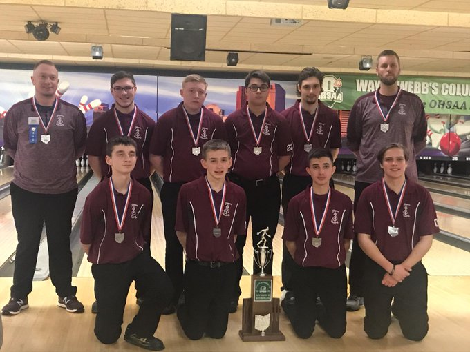 Skippers Boys Bowling Team 2020 OHSAA Division II State Runner-ups! 2/28/20