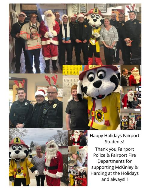 Holiday Visit FHFD & FHPD  12/2018