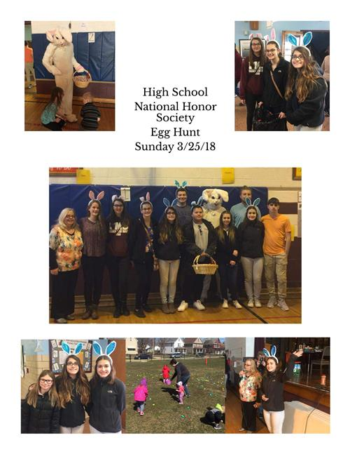 National Honor Society Sponsors Egg Hunt @ McKinley - March 25, 2018