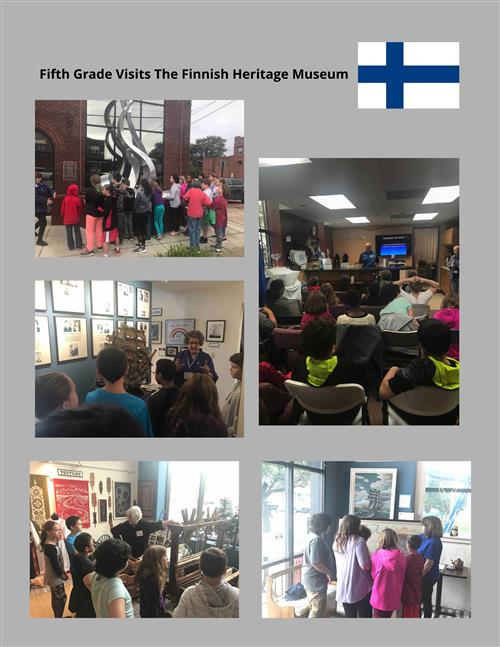Fifth Grade Visits Finnish Heritage Museum
