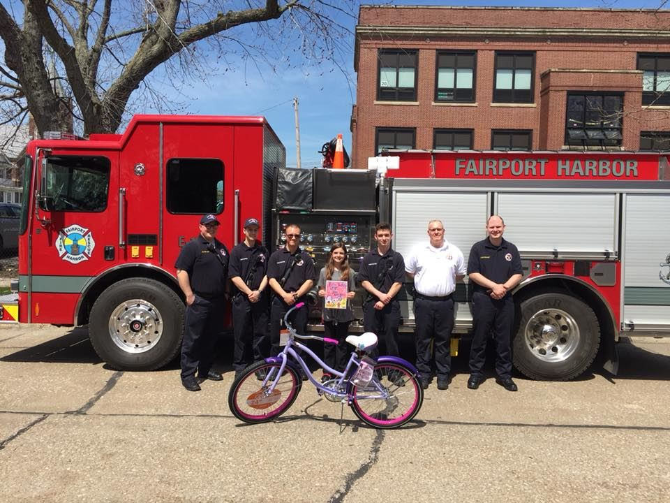 McKinley Student McKenzie Lette Won Ohio's Fire Prevention Poster Contest - April 23, 2018