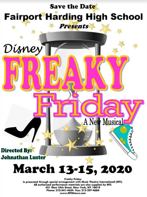 Freaky Friday Save the Date!  (3-13 to 3-15)