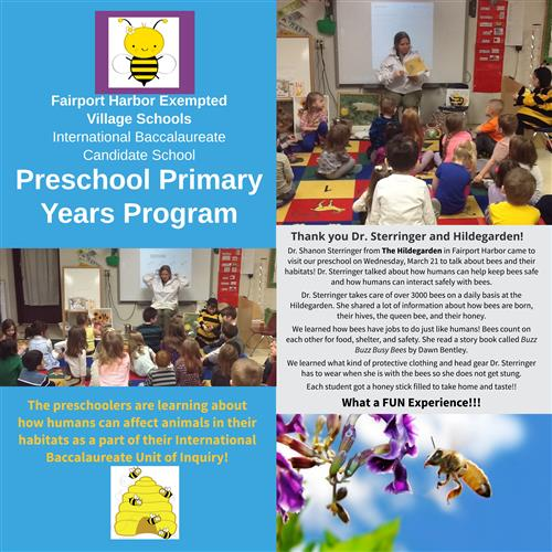 Preschool Primary Years Program with Dr. Sterringer