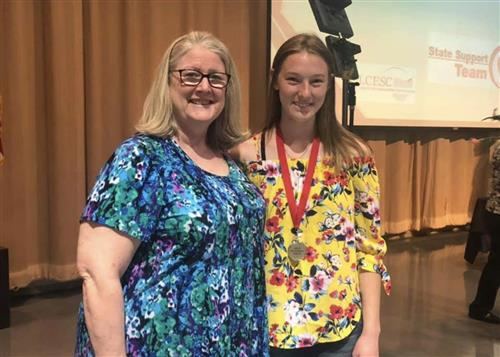 2019 Raymond A. Horn Outstanding Student and Franklin B. Walter Outstanding Educator Awards Ceremony 5/1/19