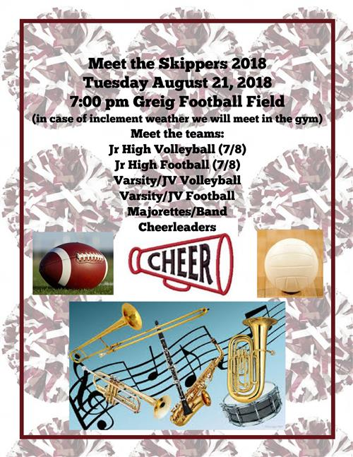 Meet The Skippers August 21 2018  7:00 PM