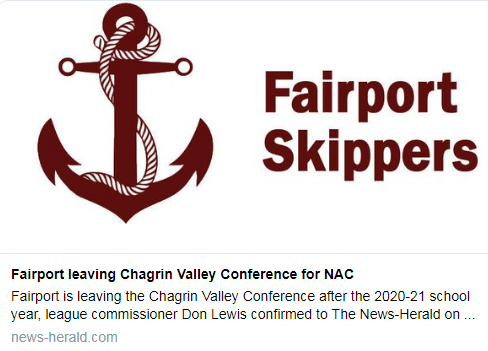 Fairport leaving Chagrin Valley Conference for NAC