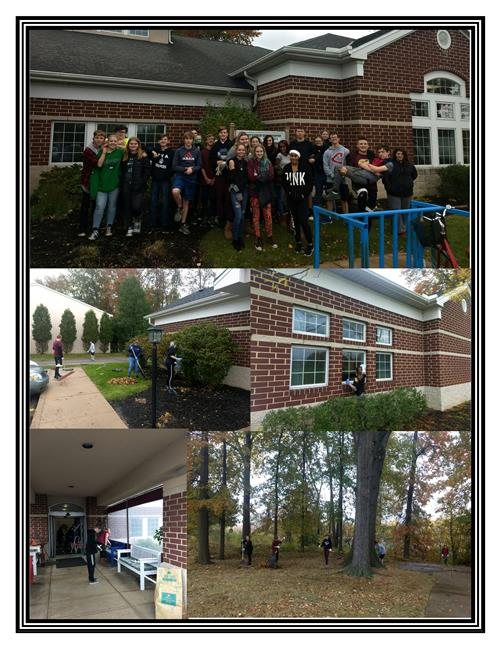 Service Project-Mrs. Knights ELA November 5, 2018