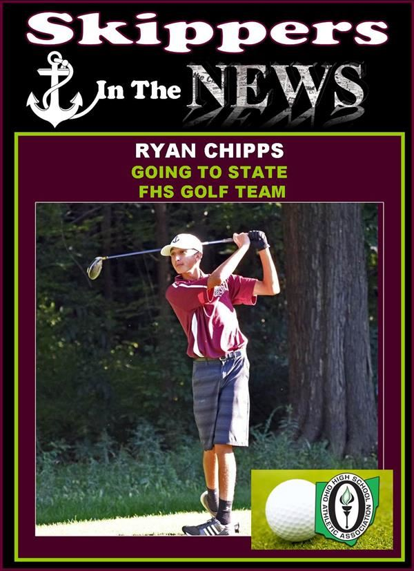 Golfer Ryan Chipps Heading to State!