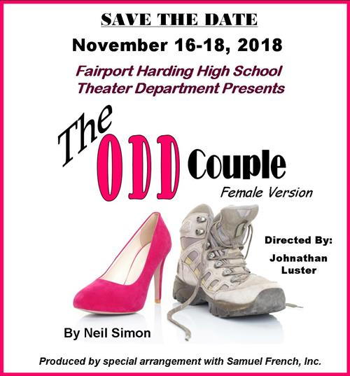 save the date odd couple