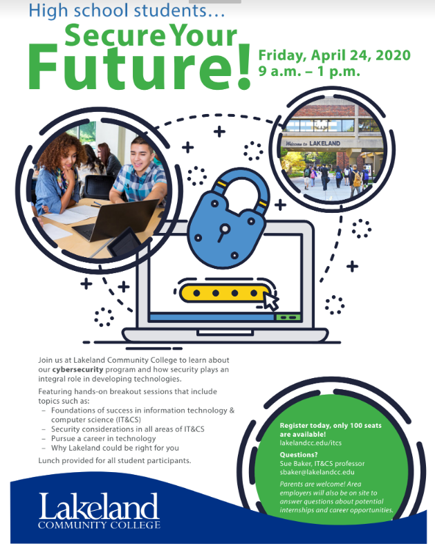 Secure Your Future   4/24/2020 Lakeland Community College