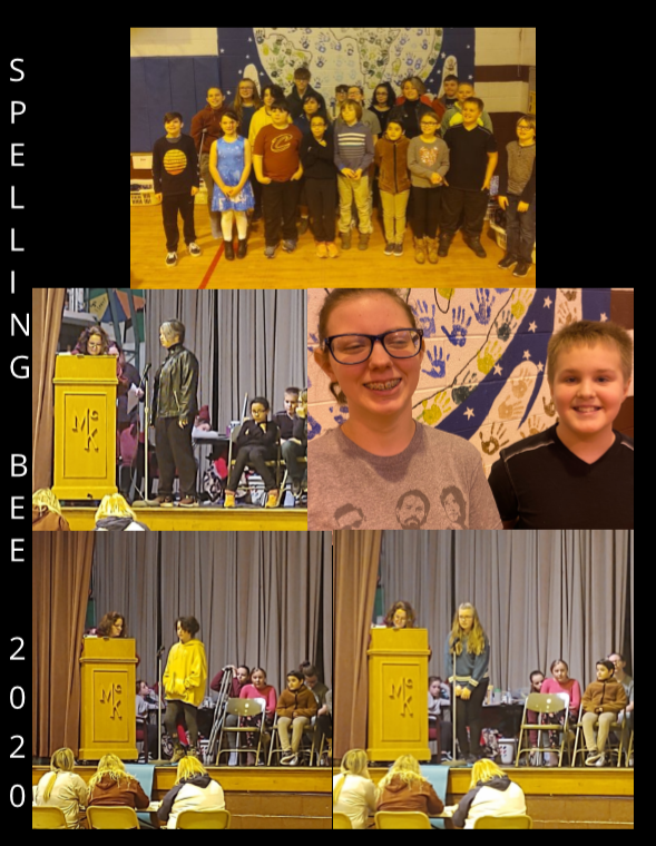 Fairport Students Gr 3-8 Spelling Bee   1/24/20