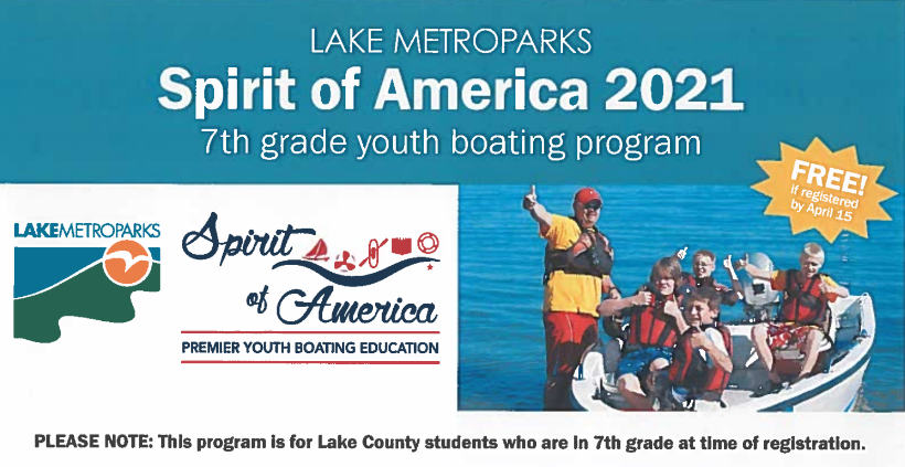 Spirit Of America Due by 4/15/21