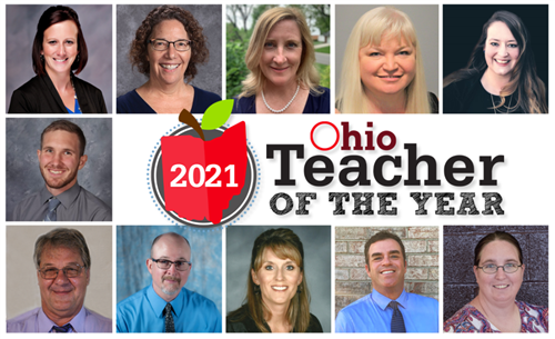 2021 Ohio Teacher of the Year - SANDRA KNIGHT