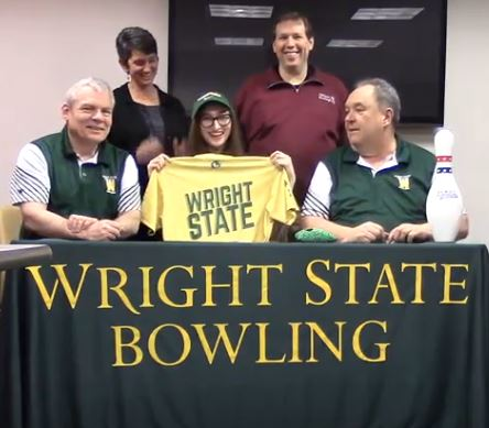 Senior Bella Coll Commits to Wright State University - March 14, 2018
