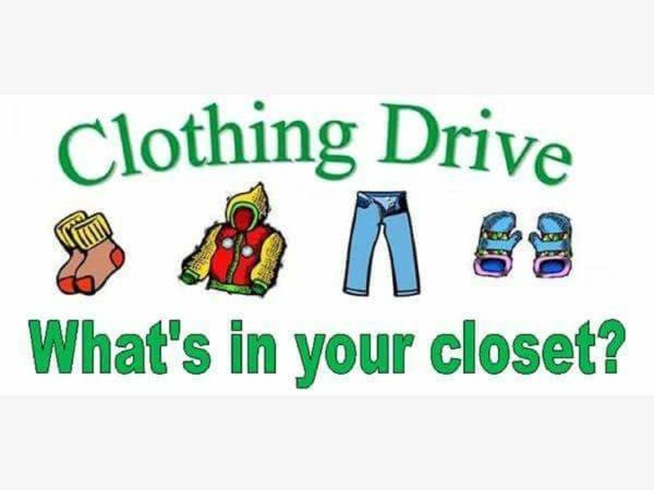 Feeding Fairport's Hungry Clothing Drive 4/6/19