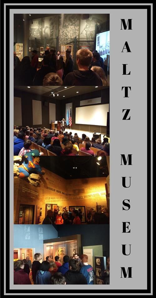 Maltz Museum of Jewish Heritage Welcomes FHS 8th Graders 12/12/18